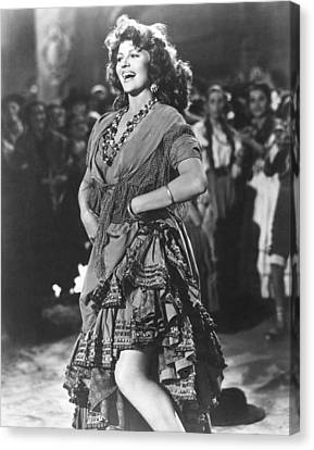 The Loves Of Carmen, Rita Hayworth, 1948 Canvas Print by Everett