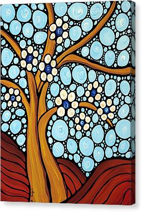 The Loving Tree Canvas Print by Sharon Cummings