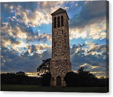 The Luray Singing Tower Canvas Print by Lara Ellis