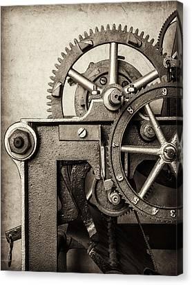 The Machine Canvas Print by Martin Bergsma