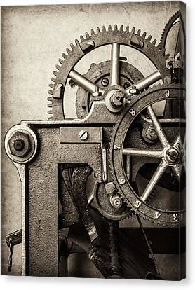 The Machine Canvas Print by Martin Bergsma