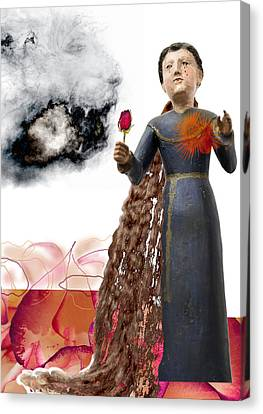 The Maddening Wind Canvas Print by Maria Jesus Hernandez