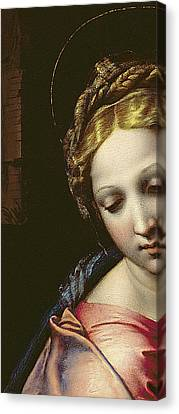 The Madonna Canvas Print