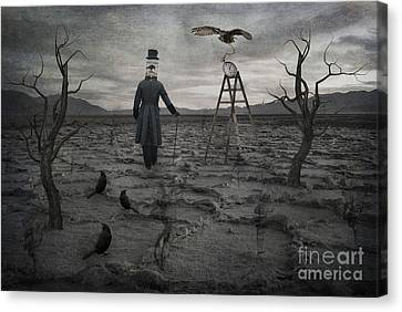 Salt Flats Canvas Print - The Magician by Juli Scalzi