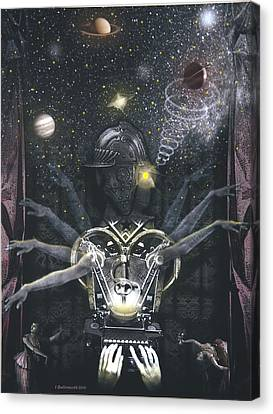 The Magician Canvas Print by Larry Butterworth