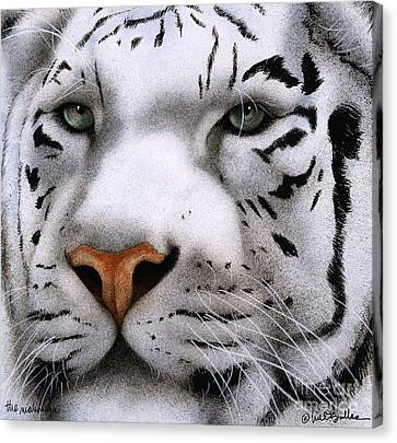 Tiger Canvas Print - The Maharajah... by Will Bullas