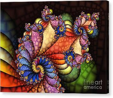 The Maharajahs New Hat-fractal Art Canvas Print