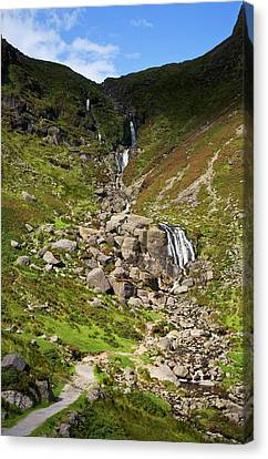 The Mahon Falls, Comeragh Mountains Canvas Print by Panoramic Images