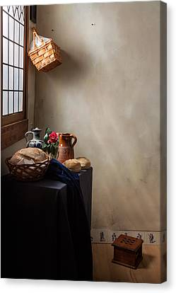 Canvas Print featuring the photograph The Maid Has Left by Levin Rodriguez
