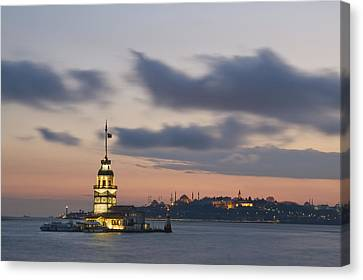 The Maiden's Tower  Canvas Print by Ayhan Altun