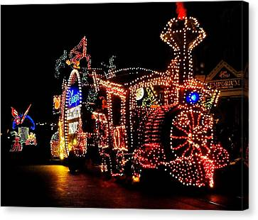 The Main Street Electrical Parade Canvas Print