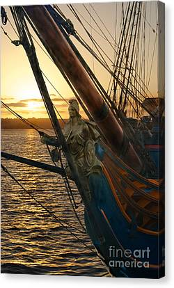 The Majesty Of The Ocean Canvas Print by Claudia Ellis