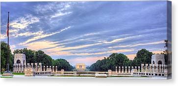 The Mall Canvas Print by JC Findley