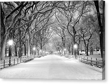 Canvas Print featuring the photograph The Mall by Mihai Andritoiu