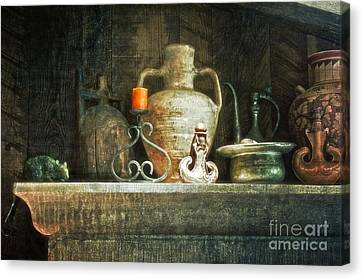 Canvas Print featuring the photograph The Mantle by Vicki DeVico