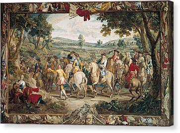 The March. 17th C. Germany. Munich. New Canvas Print by Everett