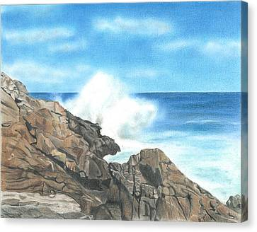 The Marginal Way Canvas Print by Troy Levesque