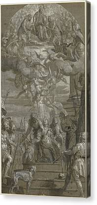 The Martyrdom Of Saint Justina Paolo Veronese Paolo Canvas Print