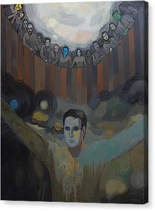 The Mask Canvas Print by Fernando Alvarez