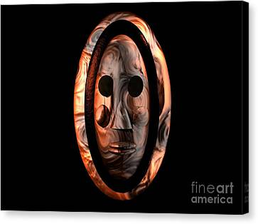 The Mask Series 1 Canvas Print by Jacqueline Lloyd