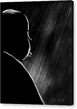 The Master Of Suspense Canvas Print by Bob Orsillo