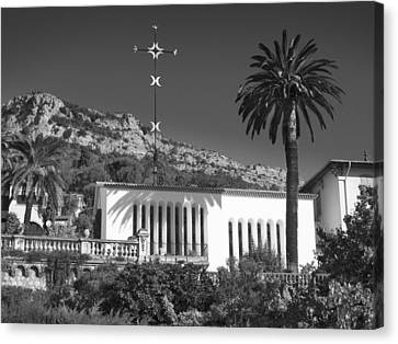 Canvas Print featuring the photograph The Matisse Chapel Vence by Richard Wiggins