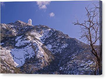 The Mayall Observatory Atop Kitt Peak Canvas Print by John Davis