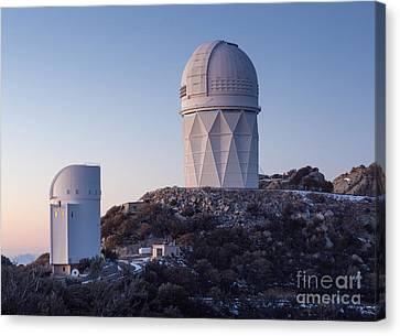 The Mayall Observatory Sits Atop Kitt Canvas Print by John Davis