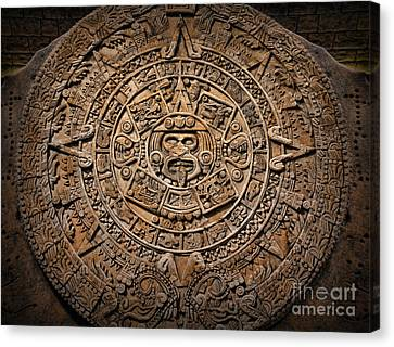 The Mayan Calendar Canvas Print
