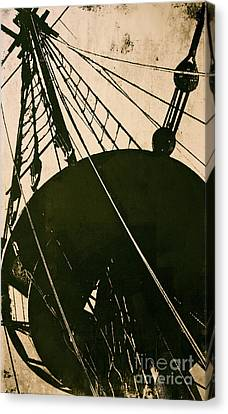 The Mayflower Canvas Print by Deborah Talbot - Kostisin