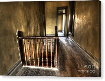 Historic Meade Hotel Montana 3 Canvas Print by Bob Christopher