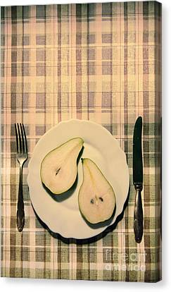The Meal Of The Day Canvas Print by Jaroslaw Blaminsky