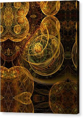 The Mechanical Universe Canvas Print by Gayle Odsather