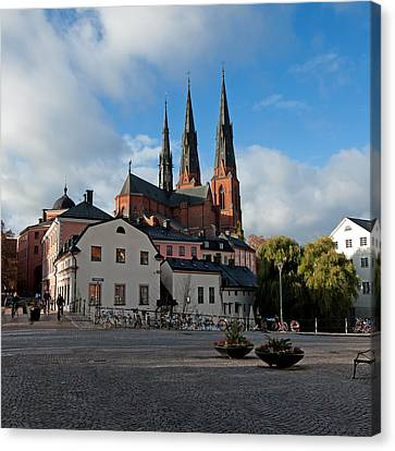 The Medieval Uppsala Canvas Print