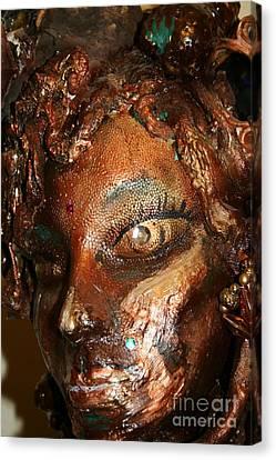 The Medusa Snare  Canvas Print by Avonelle Kelsey