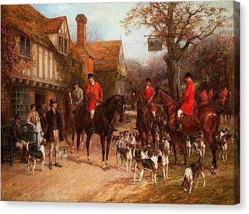 The Meet, Ye Olde Wayside Inn Canvas Print