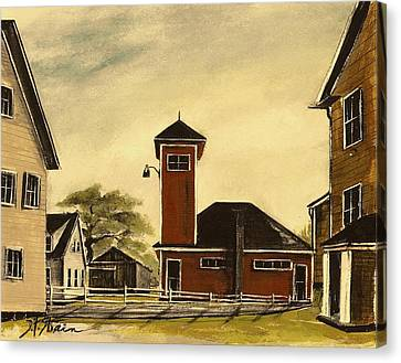 The Meeting House Canvas Print