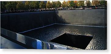 Bravery Canvas Print - The Memorial by Dan Sproul