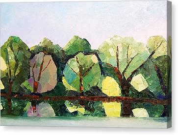 Emajogi Reflections Canvas Print