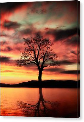 Ally Canvas Print - The Memory Tree by Ally  White