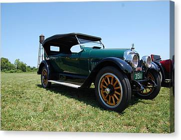 The Mercer Touring Coupe Canvas Print by Mustafa Abdullah