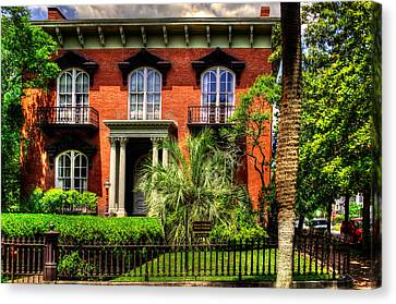 The Mercer Williams House Canvas Print by Greg Mimbs
