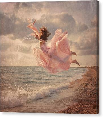The Mermaid Canvas Print by Anka Zhuravleva