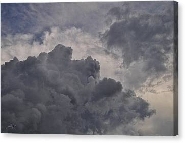The Mighty Hand Of God Canvas Print by Paulette B Wright