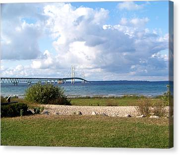 The Mighty Mac Canvas Print by Jennifer  King
