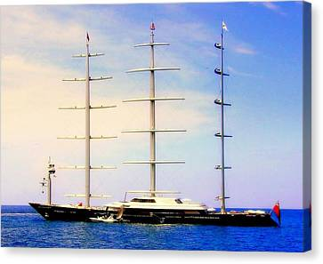 The Mighty Maltese Falcon Canvas Print by Karen Wiles