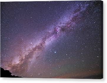 The Milky Way And Summer Triangle Canvas Print by Babak Tafreshi