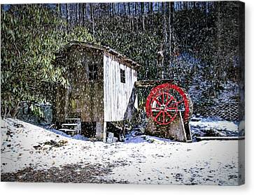 The Mill Canvas Print by Bill Howard