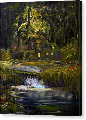 The Mill Canvas Print by James Kruse