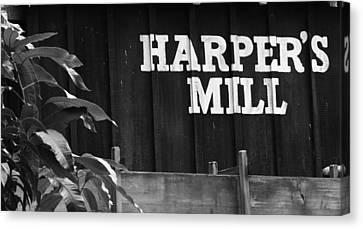 The Mill Canvas Print by Nicholas Evans